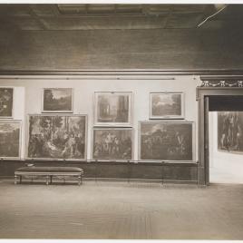 Museo del Prado, vista de una sala alta francesa