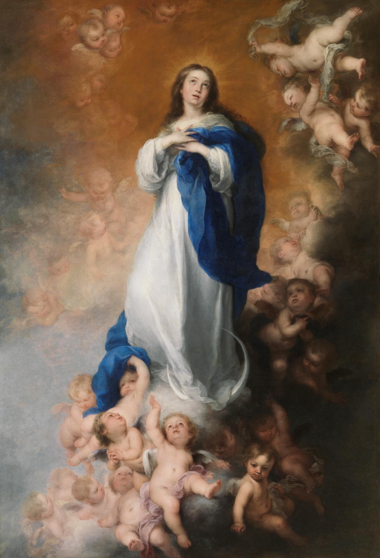 Inmaculada Concepción de los Venerables, La [Murillo]