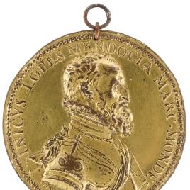 "Íñigo López de Mendoza, III marqués de Mondéjar - Escena de batalla (""I · F."")"