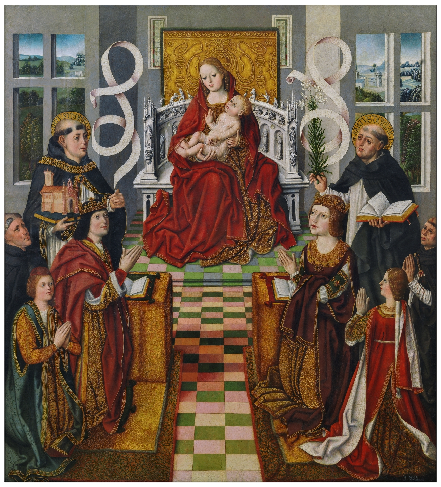 The Virgin Of The Catholic Monarchs The Collection Museo Nacional Del Prado