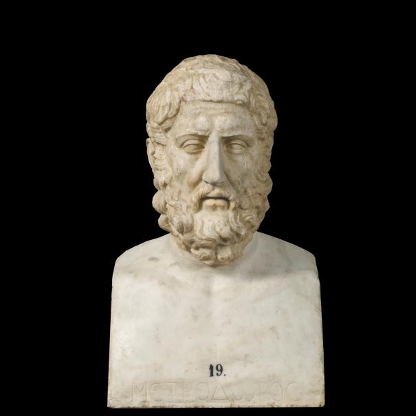 Retrato del filósofo Hermarco