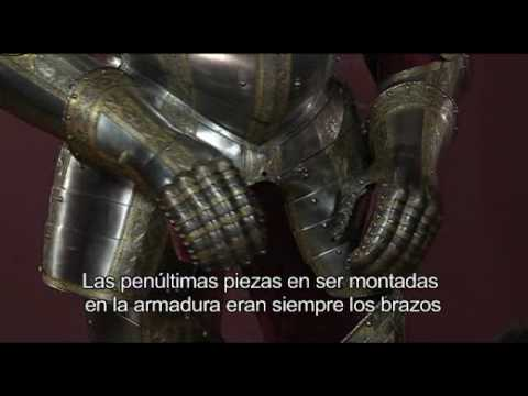 Setting-up of the armour of Philip II