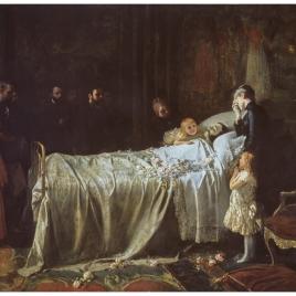 Muerte de don Alfonso XII (El último beso)