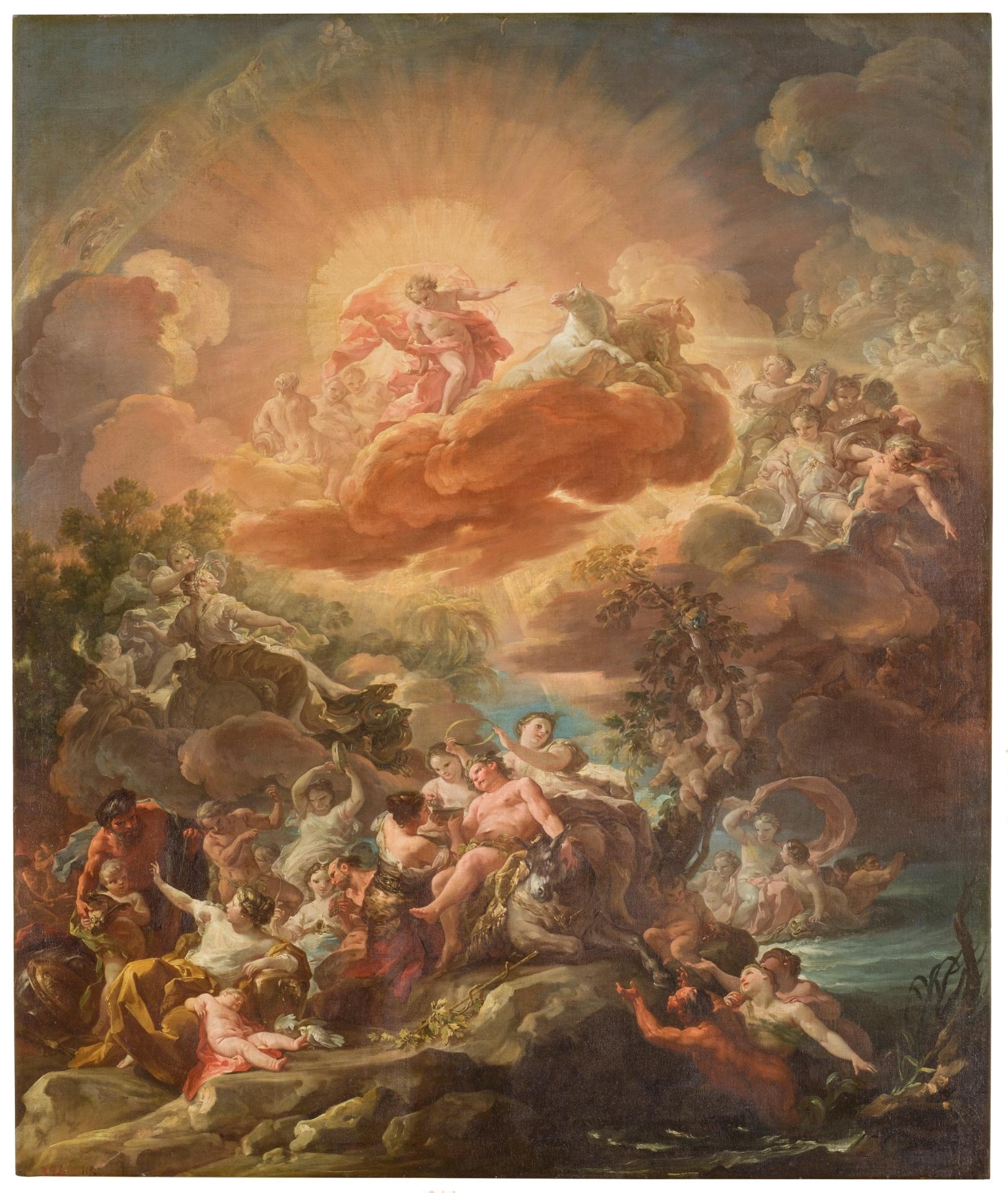 Otras pinturas de Corrado Giaquinto para el Palacio Real