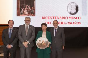 Presentación de la moneda de 30 euros conmemorativa del 200 Aniversario del Museo del Prado