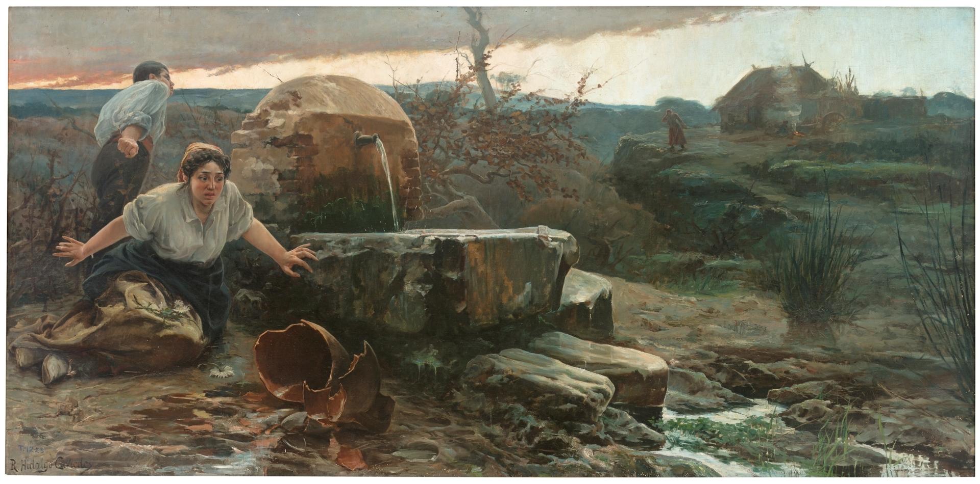 Tanto va el cántaro a la fuente... - Colección - Museo Nacional ...