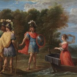 Separación de Armida y Reinaldo