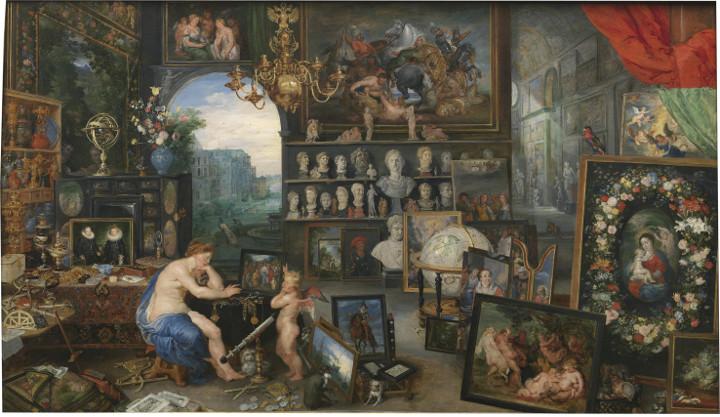 El Prado habla. La vista, de Pedro Pablo Rubens y Jan Brueghel el Viejo