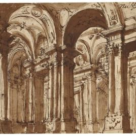 Estudio de interior arquitectónico