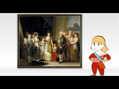 Obras comentadas: La familia de Carlos IV, de Goya