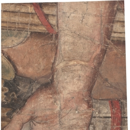 An Open Right Hand, Fragment from the Tapestry Cartoon The Continence of Scipio