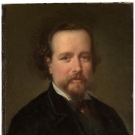 El pintor Vicente Palmaroli