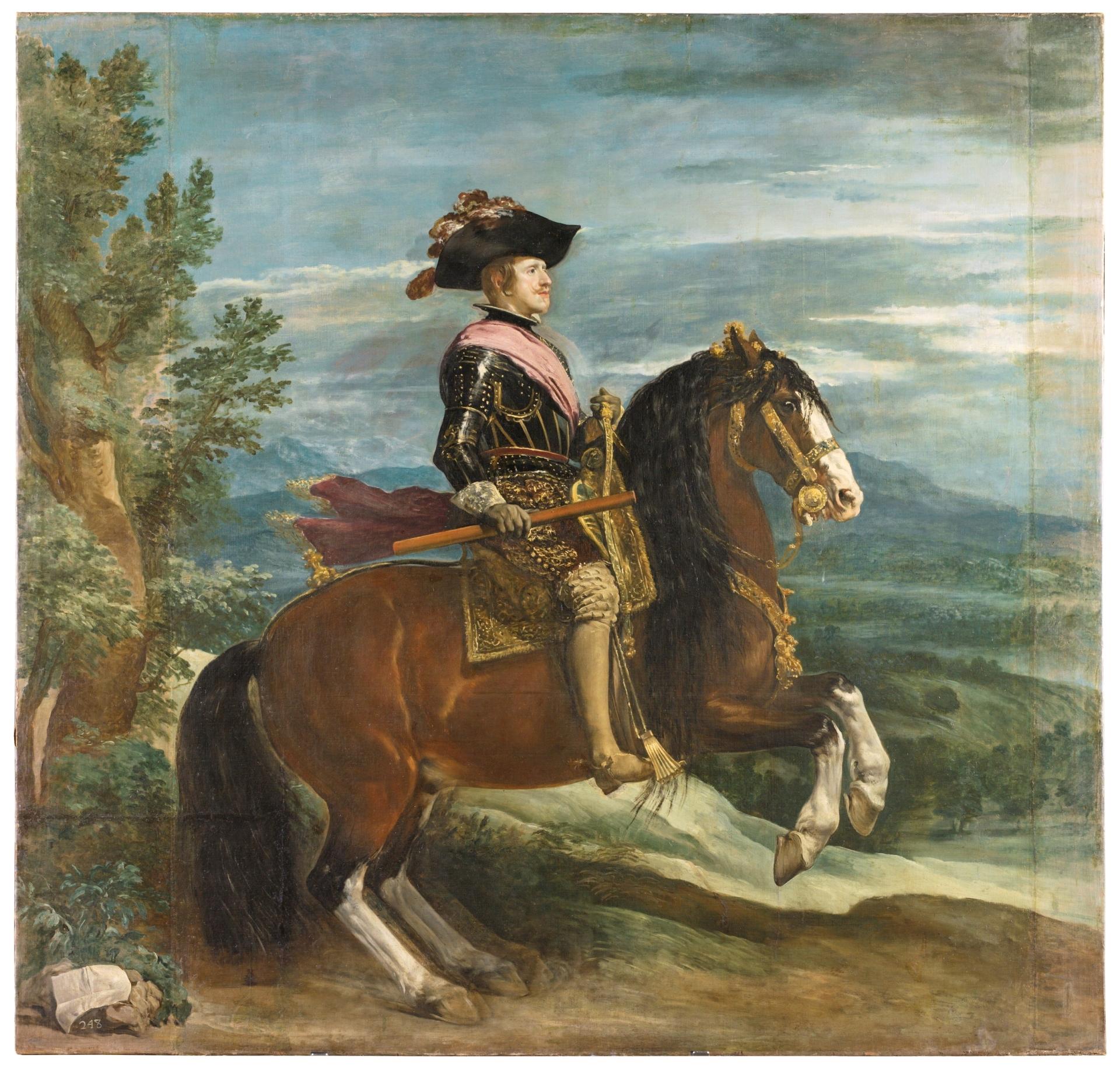 Felipe IV, a caballo - Colección - Museo Nacional del Prado