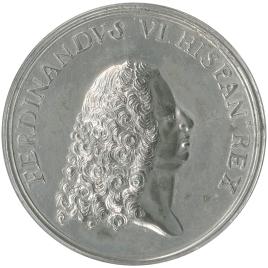 Toma de posesión del reino por Fernando VI