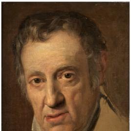 El pintor Vicente López, padre del artista