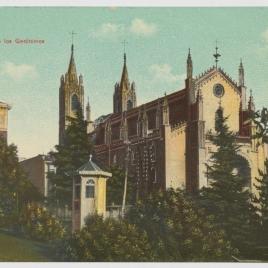 Vista de la iglesia de los Jerónimos