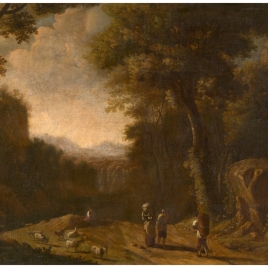 Landscape with Travellers and a Shepherd