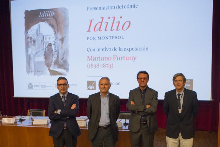 El Museo del Prado presenta el tercer cómic de su colección a cargo del artista Montesol