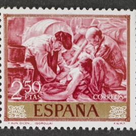 Serie de sellos Joaquín Sorolla