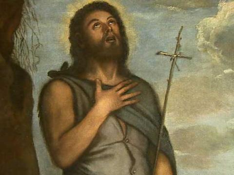 El trabajo de los restauradores del Prado ha permitido descubrir un <em>San Juan Bautista</em> de Tiziano