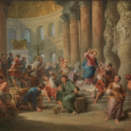 Christ casting the Money Changers out of the Temple