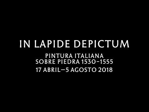 """Avance de la exposición: """"In lapide depictum"""""""