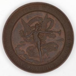 Medalla de la Exposición Literario Artística, 1884-85