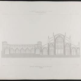 Sección transversal de la Catedral de Toledo