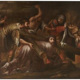 Jesucristo camino del Calvario y la Verónica