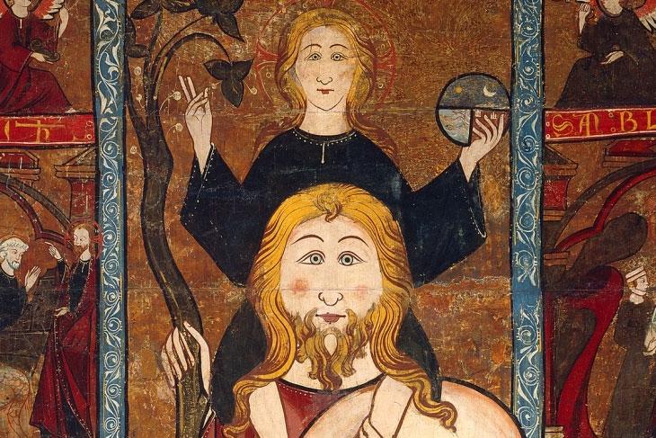 El Prado habla. Retablo de san Cristobal, de anónimo