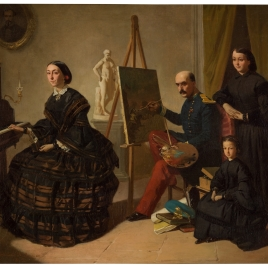 The Carlist Painter and his Family