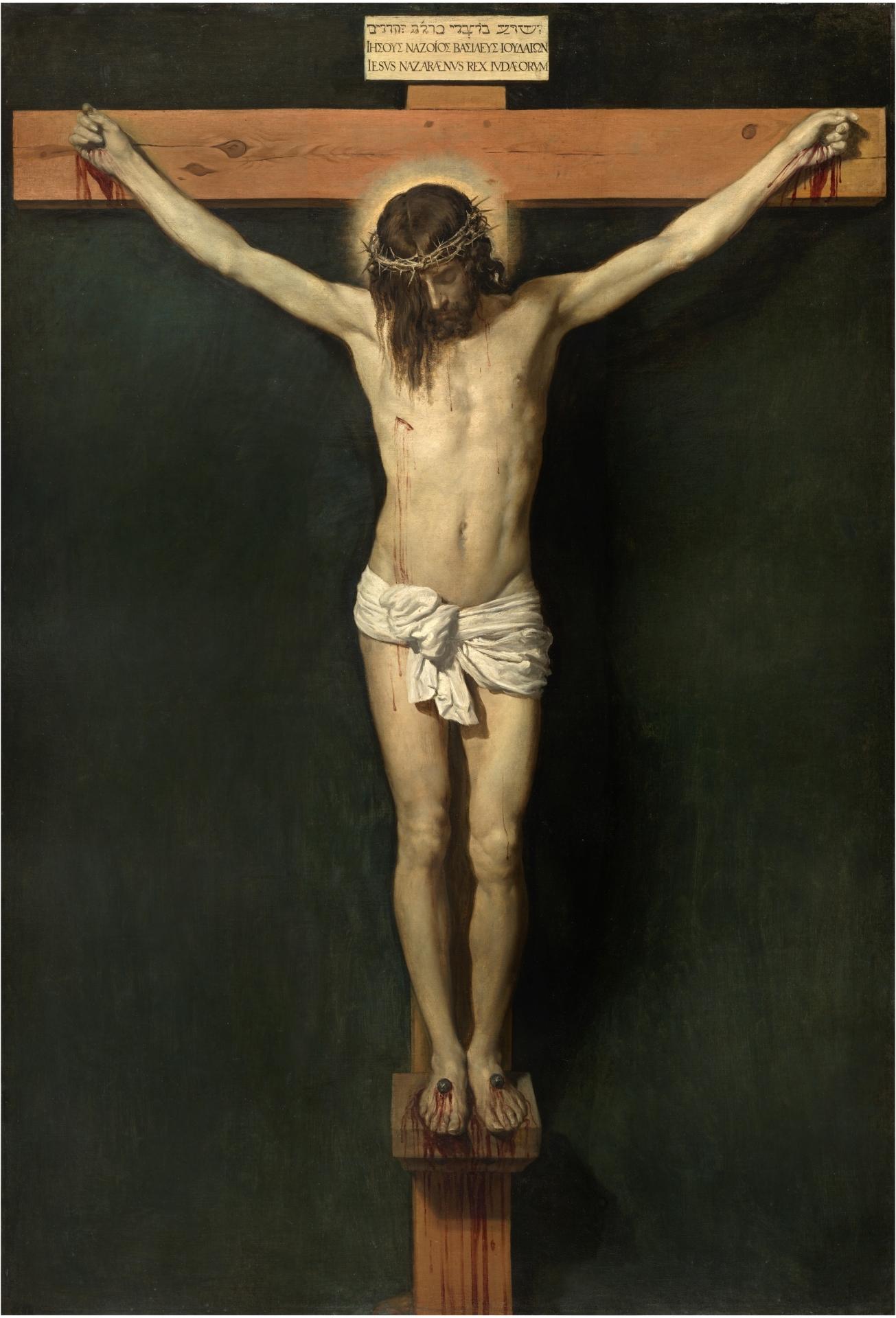 Resultado de imagen de CRISTO EN LA CRUZ DE DIEGO VELÁZQUEZ