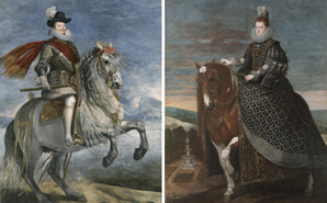 The Restoration of the two Equestrian Portraits by Velázquez