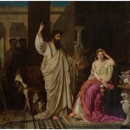 San Pablo, sorprendido por Nerón en el momento de convertir a Sabina Popea