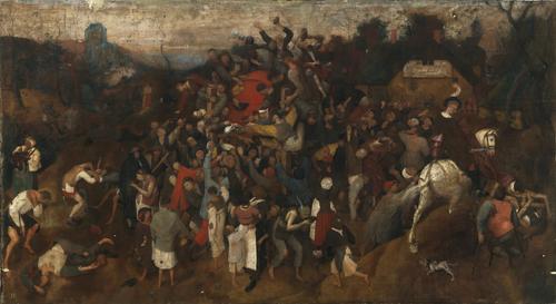 El vino de la fiesta de San Martín de Bruegel el Viejo