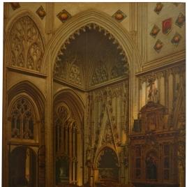 Capilla y sepulcros del condestable de Castilla, don Álvaro de Luna, y de su mujer, doña Juana de Pimentel, en la Catedral de Toledo