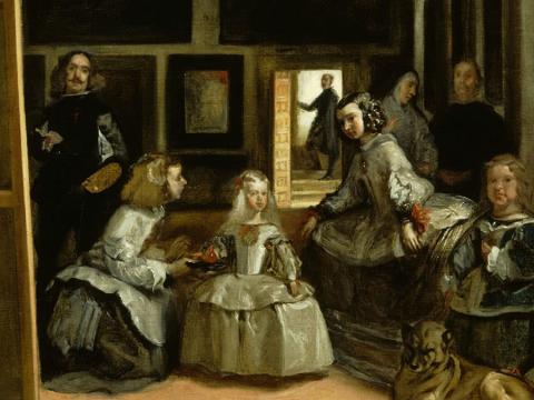 El Prado radiografía <em>Las meninas</em> para estudiar el cuadro