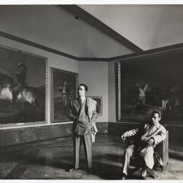 Museo del Prado, vista de una sala con obras de Goya