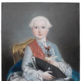 El infante don Javier de Borbón (¿?)