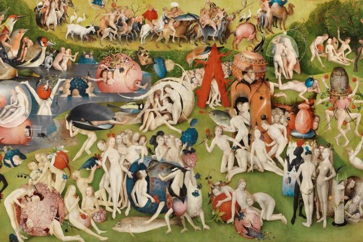 El teatro de los Milagros y los Misterios y la pintura de la Edad Media