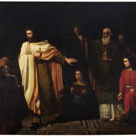 San Hermenegildo en la prisión