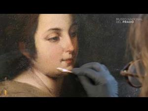 "The restoration of ""The Holy Family with a Little Bird"" by Bartolomé Esteban Murillo"
