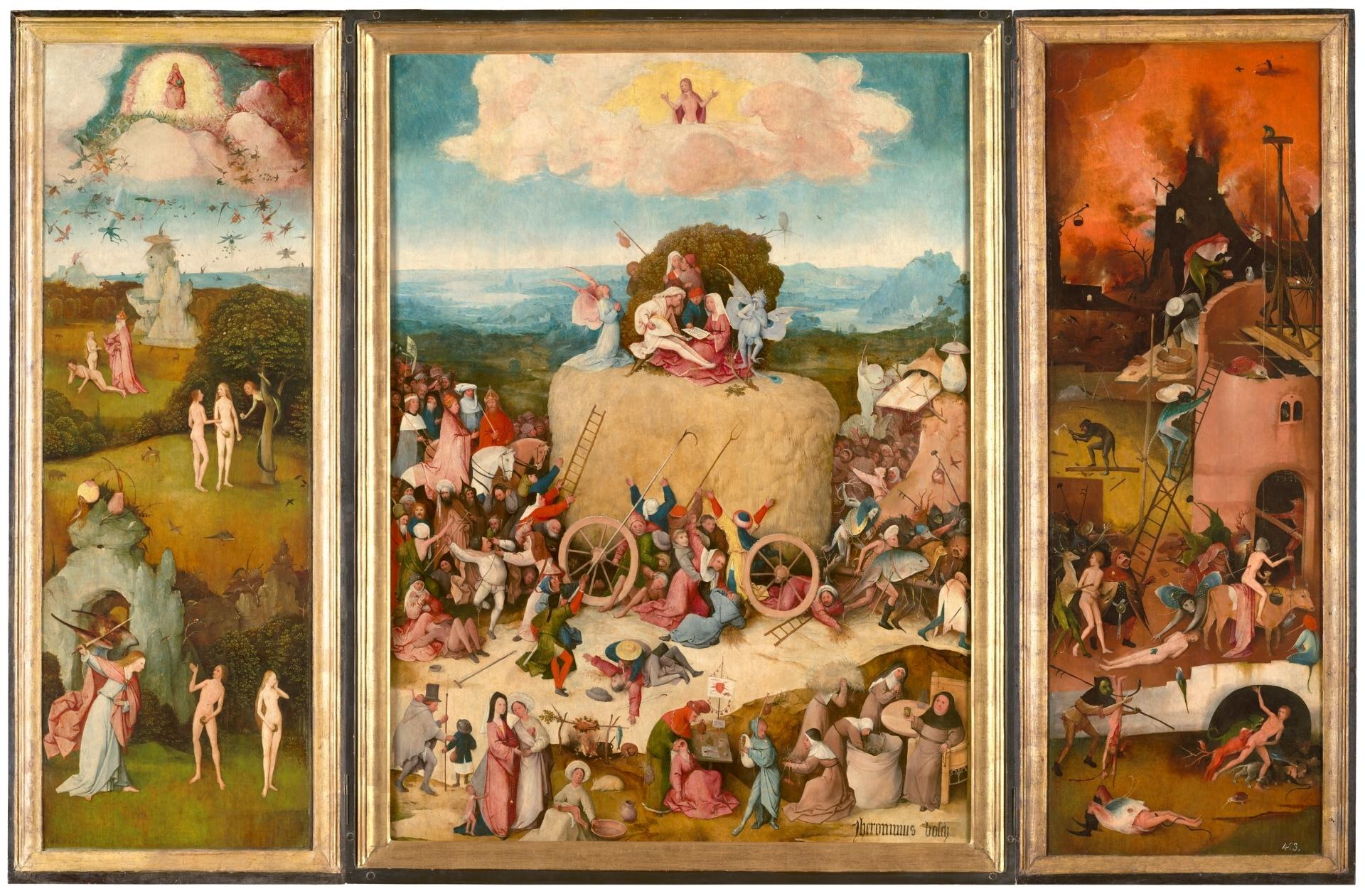 The Haywain Triptych - The Collection - Museo Nacional del Prado