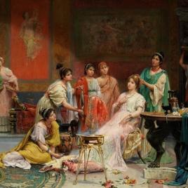 Tocador de una dama romana
