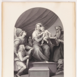 The Holy Family with the Archangel Raphael, Tobias, and Saint Jerome