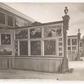 Museo del Prado, vista de una sala de las escuelas flamencas