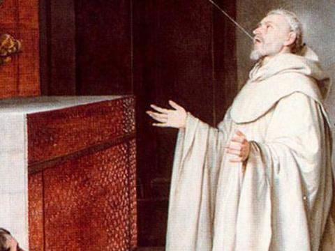 <em>San Bernardo y la Virgen</em>, Alonso Cano, comentada por Santiago Amón