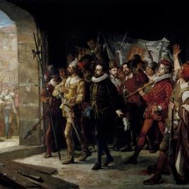 Antonio Pérez, libertado de la cárcel de los Manifestados por el pueblo de Zaragoza, en 1591