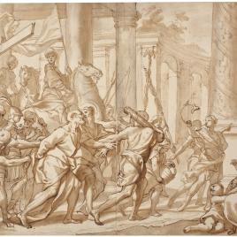 San Pedro conducido al martirio