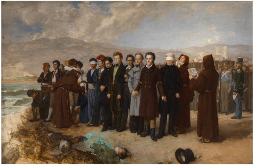Execution of Torrijos and his Companions on the Beach at Malaga